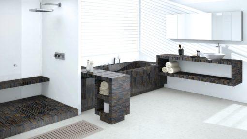 Fiero Caesarstone Quartz Bathroom