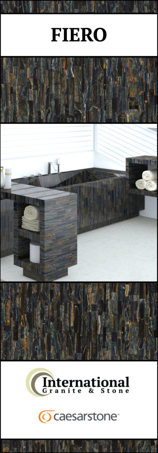 Fiero Caesarstone Quartz Full Slab Pinterest