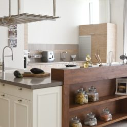 Ginger Caesarstone Quartz Kitchen