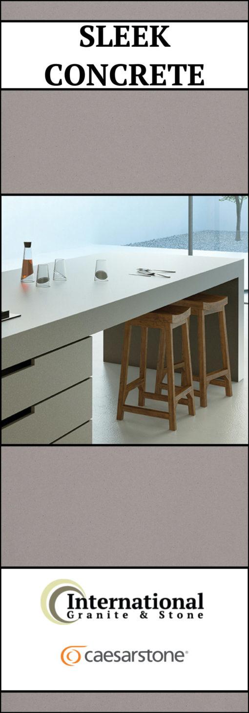 Sleek Concrete Caesarstone Quartz Full Slab Pinterest