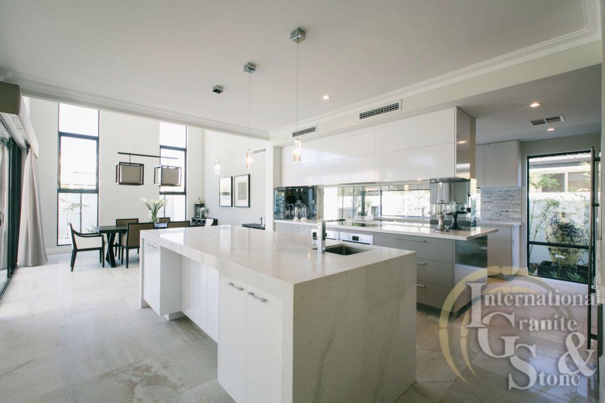 White-caesarstone-kitchen-lauren-interiors-calacatta-nuvo-marble-remodel
