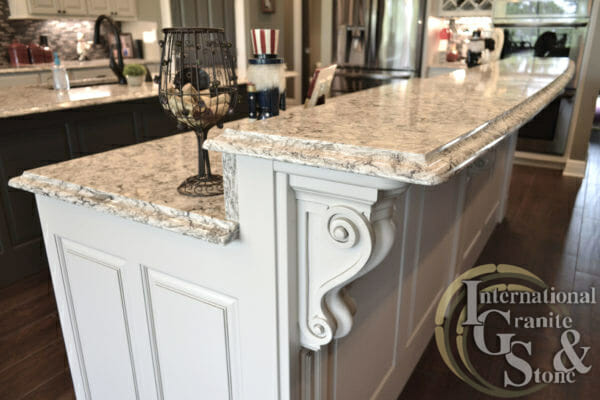 Cambria Bellingham Quartz Highbar With Painted White Cabinets Quartz Countertops Granite Countertops St. Petersburg