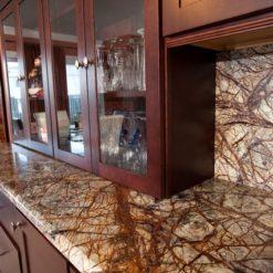Rainforest Brown Granite