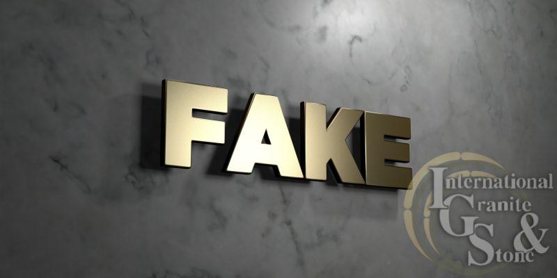 How To Spot Fake Granite Countertops