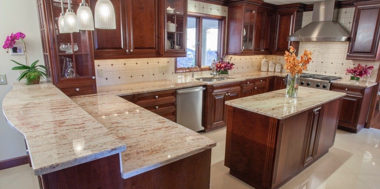 Ivory Brown Granite Countertops Cost Reviews