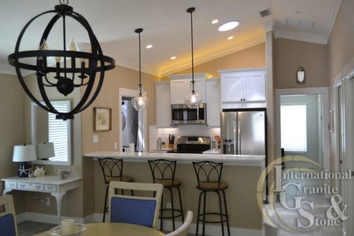 Cambria Quartz Torquay Installed in a Sarasota Kitchen