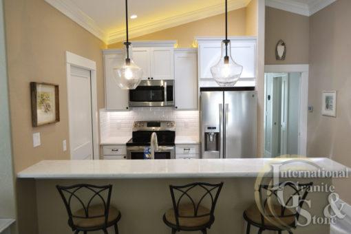 Cambria Torquay Quartz Installed in a Sarasota Kitchen