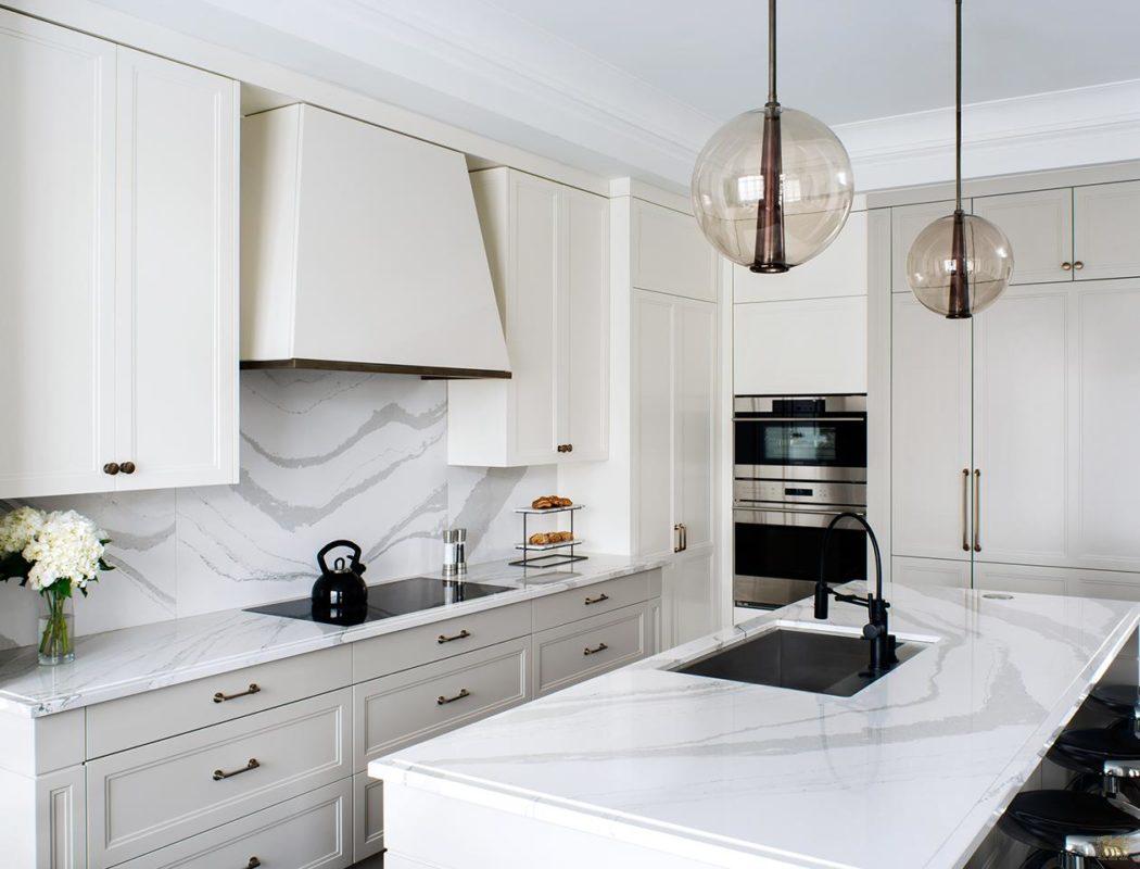 Picture of Engineered Stone Cambria Quartz Kitchen Countertops