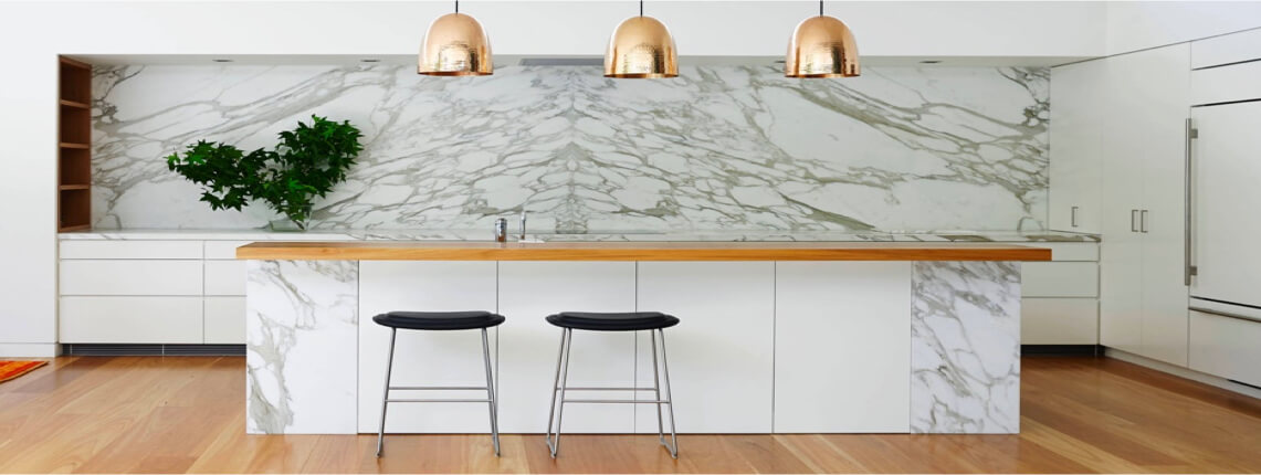 Marble Kitchen Countertops in Tampa Florida