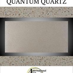 Arctic Cream Quantum Quartz Countertops