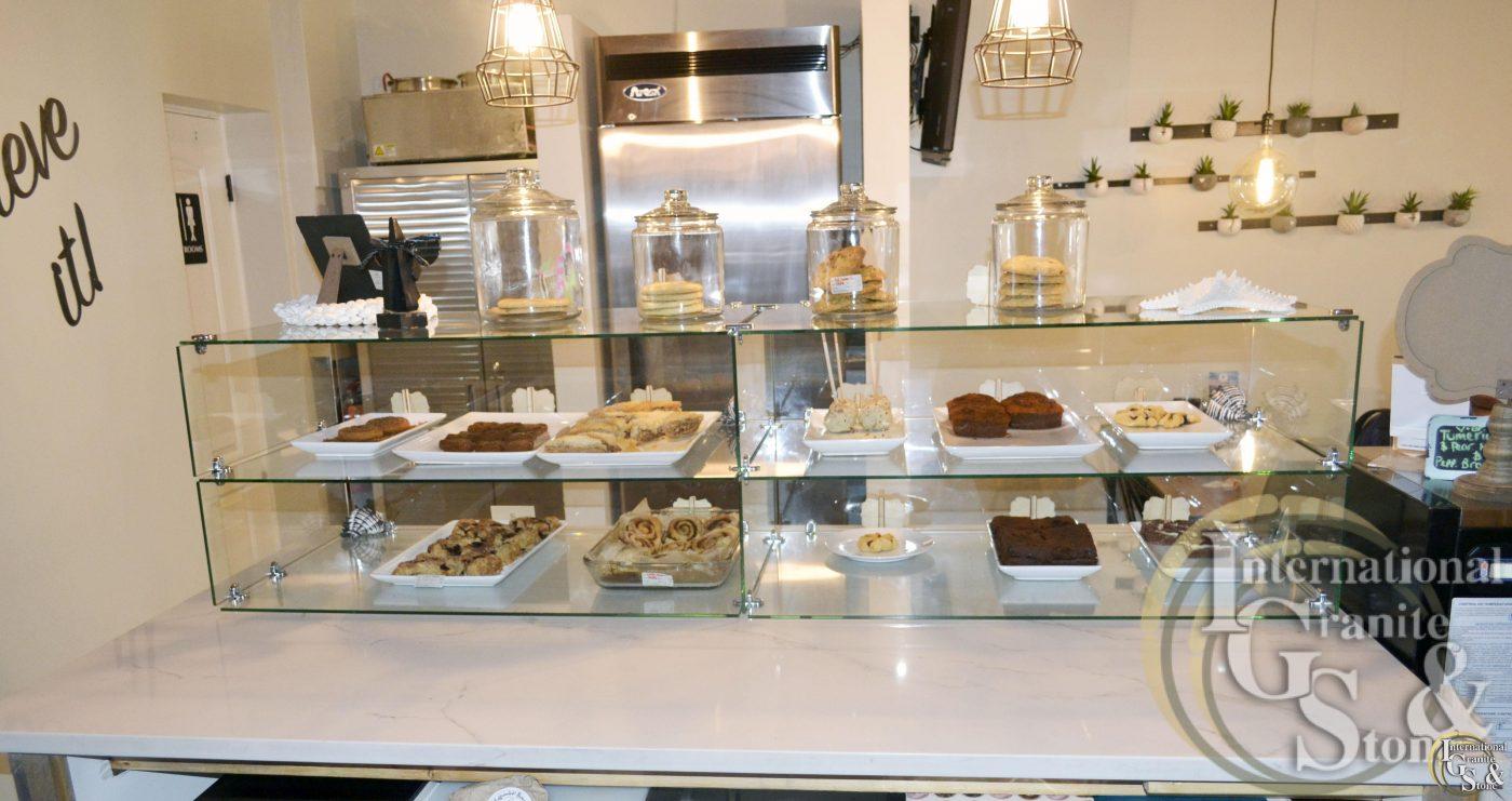 Quartz Countertops Caffeinated Bakery Clearwater Beach FL