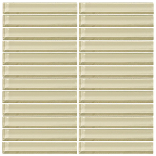 Daltile Color Wave CW05 1x6 Whipped Cream