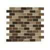 Daltile Crystal Shores CS97 2x1 Copper Coast