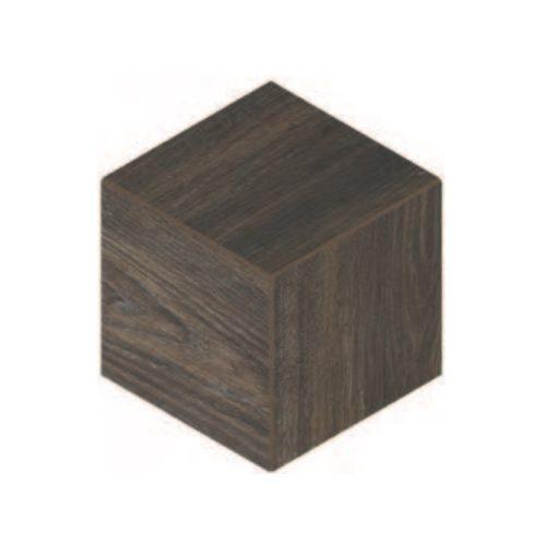 Daltile Emerson EP03 3D Cube Brazillian Walnut
