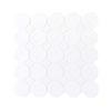 Daltile Octagon & Dot 6501 Matte White White Dot