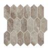 Daltile Marble Attache MA84 2x5 Hex Crux
