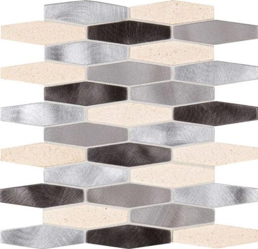 Daltile Infinite Mirage IM04 1x4 Hexagon Timeless Illusion
