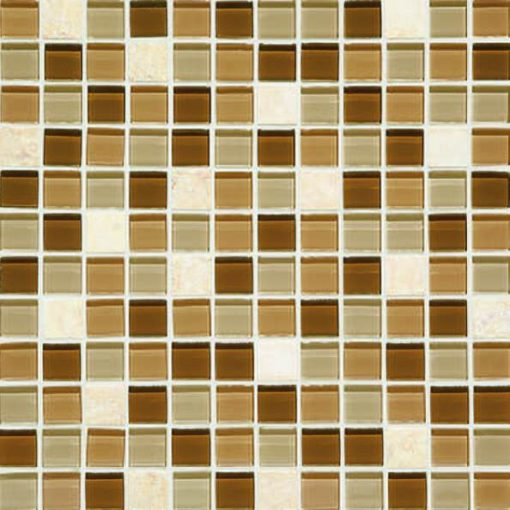 Daltile Mosaic Traditions BP95 1x1 Caramelo