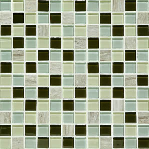 Daltile Mosaic Traditions BP97 1x1 Evening Sky