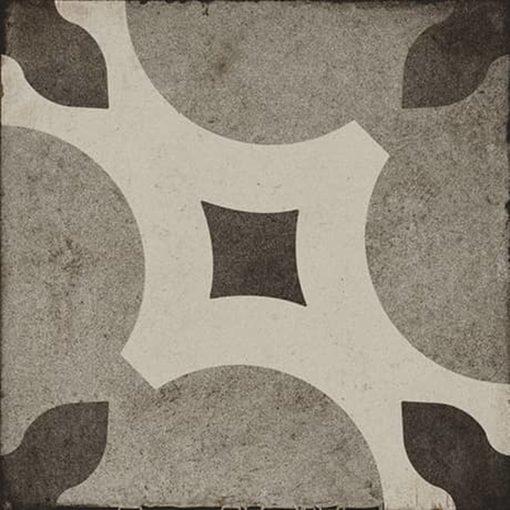 Daltile Quartetto QU22 8×8 Cool Piccolo Fiore