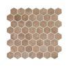Daltile Vintage Hex VH09 1.5 Inch Hexagon Umber