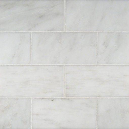 arabescato cararra subway tile | Countertops