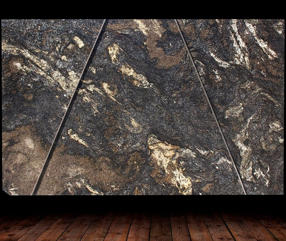 Asterix Brushed Granite Slab countertops tampa sarasota clearwater
