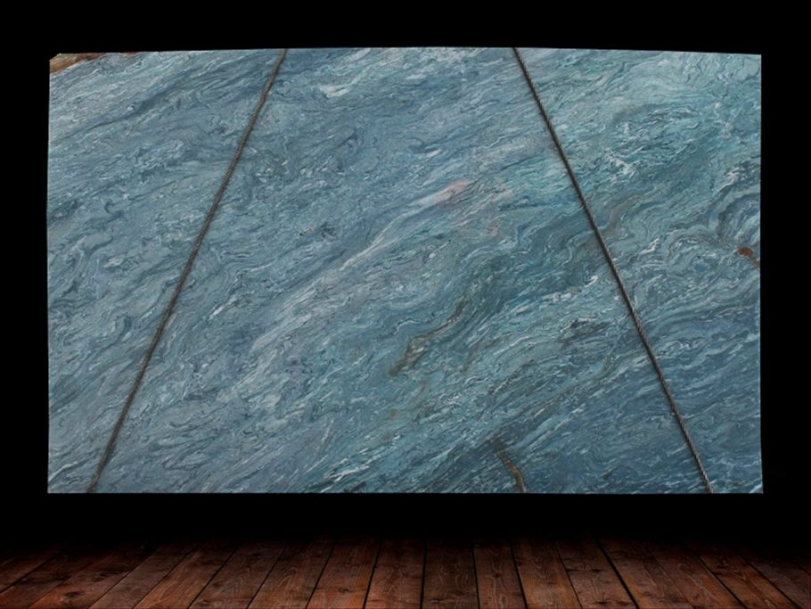 Azul Do Mar Quartzite Slab countertops tampa sarasota clearwater