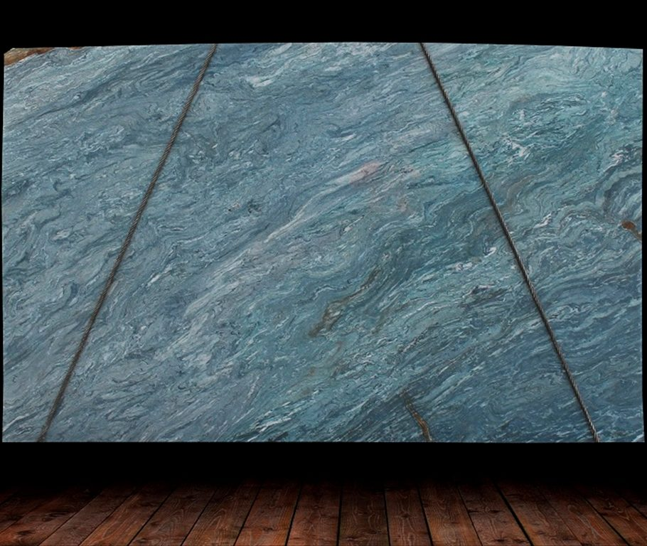 Azul Do Mar Quartzite Slab countertops tampa sarasota clearwater