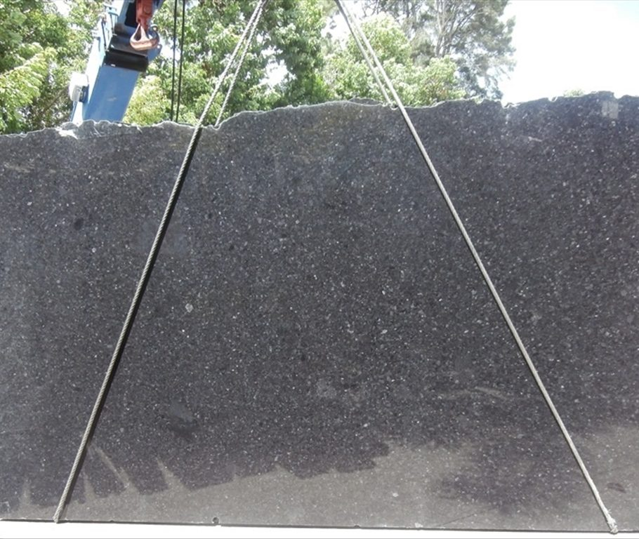 BLack Antique Granite Slab countertops tampa sarasota clearwater