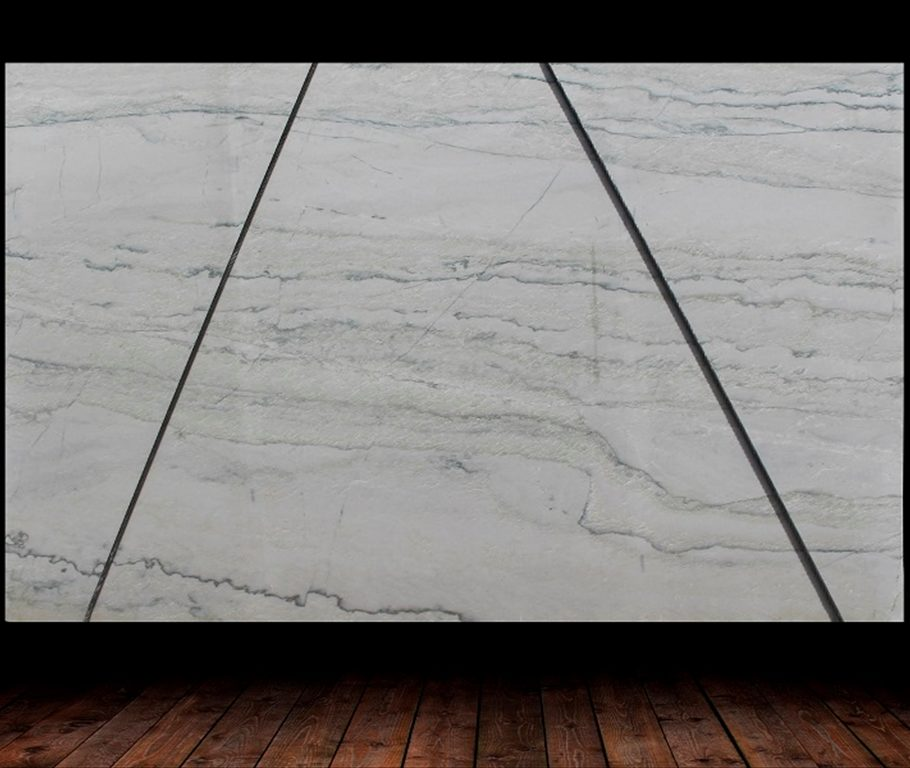 Calcutta Leather Finish Quartzite Slab countertops tampa sarasota clearwater