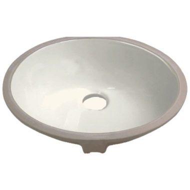 P001-BISQUE PROHS Collection Bisque Undermount Vanity Sink