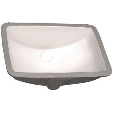 P006-BISQUE PROHS Collection Bisque Undermount Vanity Sink