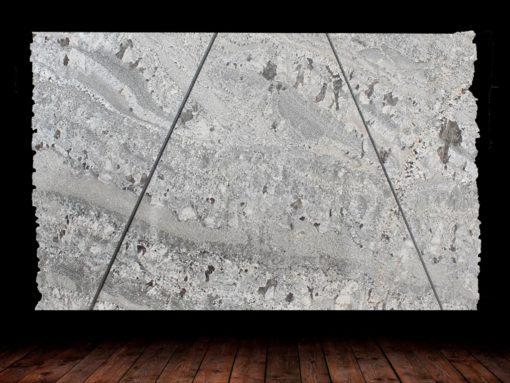 ash blue granite full slab