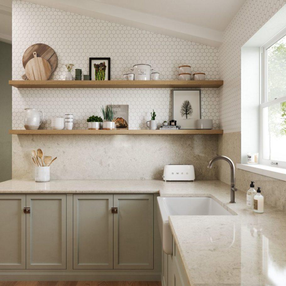 Risegate Cambria Quartz Home Depot Kitchen