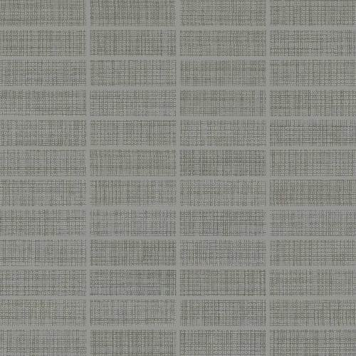 DALTILE FABRIC ART MODERN TEXTILE MEDIUM GRAY MT53-7591