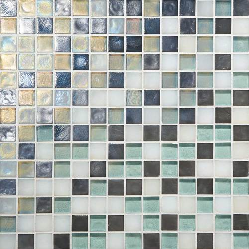 DALTILE GLASS HORIZONS ATLANTIC BLEND