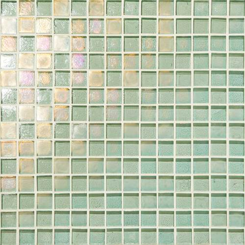 DALTILE GLASS HORIZONS SEA GLASS MOSAIC