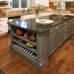 Welshpool Black Cambria Quartz Kitchen Island