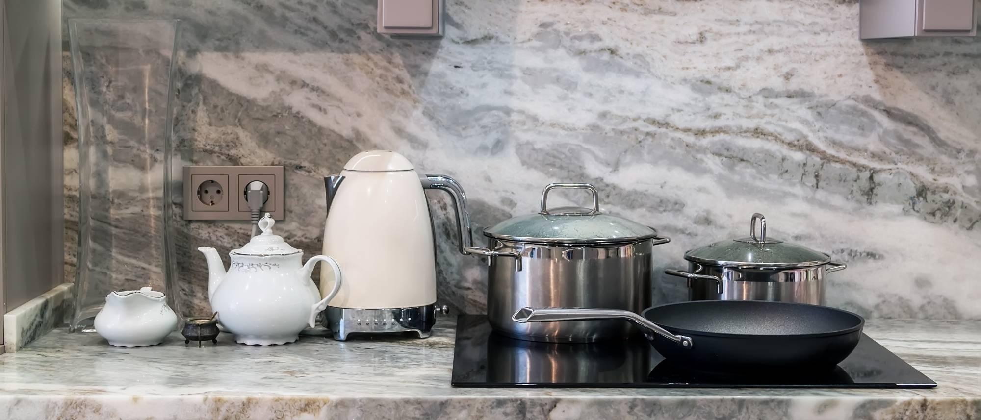 pros and cons of granite countertops granite kitchen countertops island Brown Fantasy Granite Full Heigh Backsplash