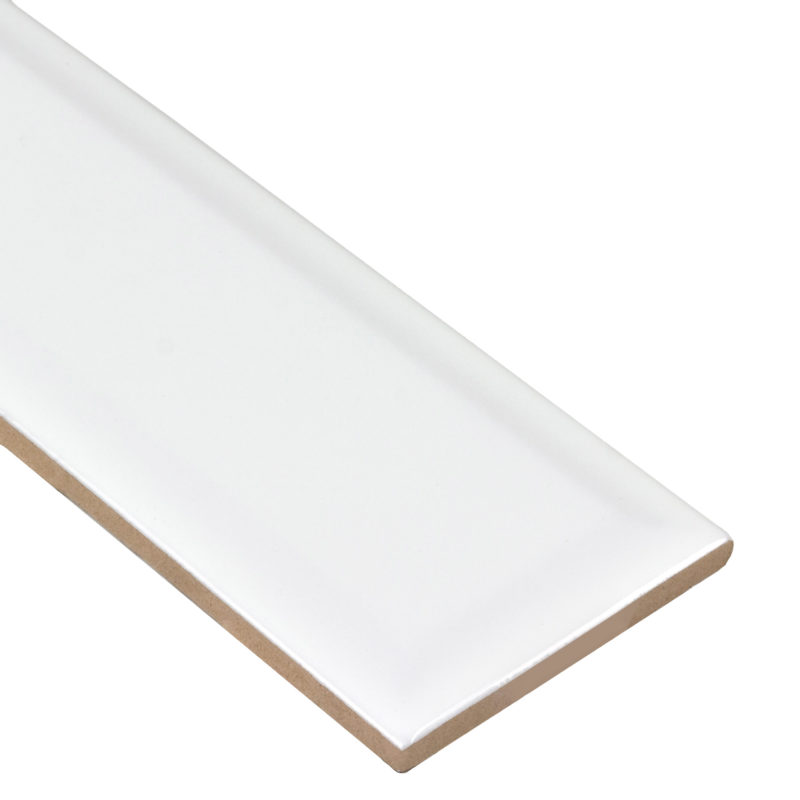 Anthology Tile Boutique Sleek Collection Salt Glossy White 3x9 ANTHBSSG_C Anthology Tile