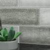 Loft Gray Collage Anthology Backsplash