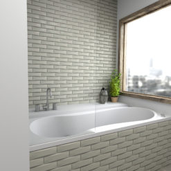 Natural Dimensions Anthology Tile Bathroom