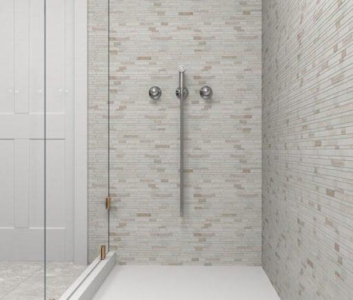Sandy Cliffs Backsplash Tile Shower Walls