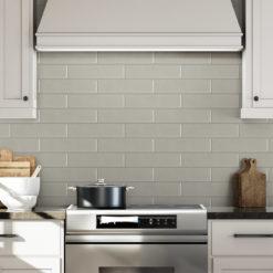 Trail Anthology Tile Backsplash in Kitchen