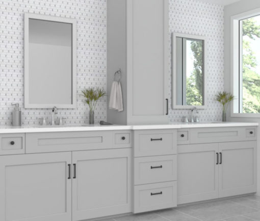 Manor Gray Dominos Tile