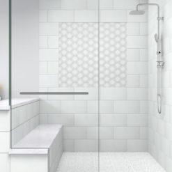 Regal Regency White Tile