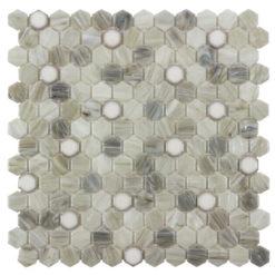 Brocade Sepia Tile