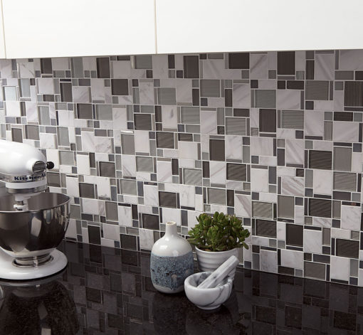 Cityscape Modern Day Metals Anthology Tile