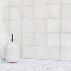 Canvas Zellige Backsplash Tile